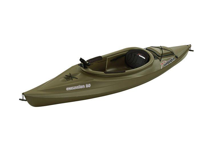 The Sun Dolphin Excursion Fishing Kayak - fishing kayaks