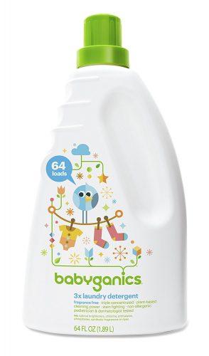 Babyganics 3x Baby Laundry Detergent - baby detergents