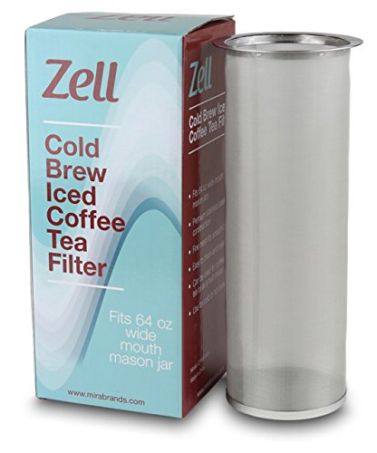The Zell Cold Brew Filter - Cold Brew Coffee Makers
