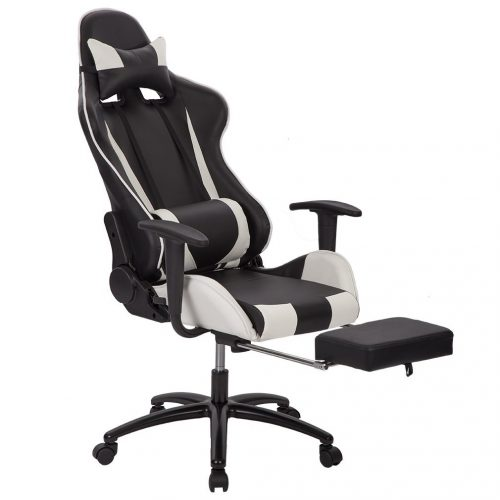 Office Chair High-back Recliner Office Chair Computer Chair Ergonomic Design Racing Chair