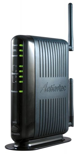 Actiontec 300 Mbps Wireless-N ADSL Modem Router (GT784WN) - AT&T Approved DSL Modems