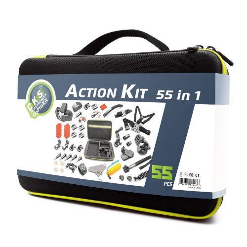 DeKaSi Accessories Kit Case for GoPro HERO 5/4/3/SJ4000/SJ5000/SJ6000 (55-IN-1) - GoPro accessories Kit