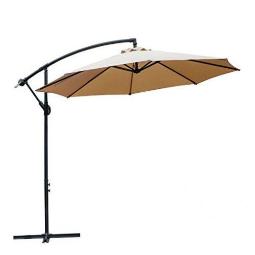 Farland 10 Ft Offset Cantilever Patio Umbrella - Offset Patio Umbrellas