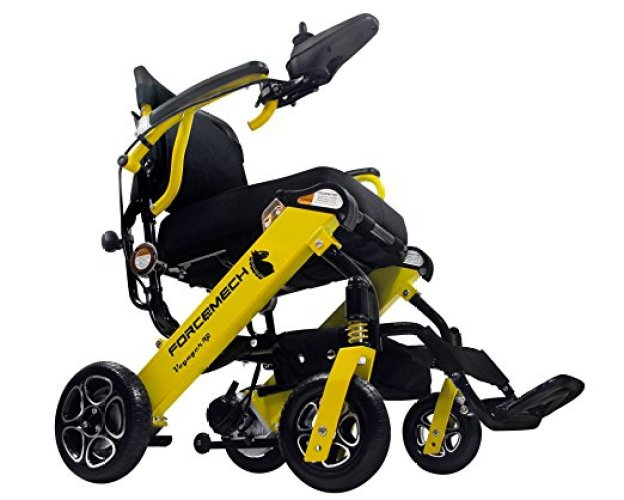 Forcemech Power Wheelchair - NEW Voyager R2, Ultra Portable Electric Folding Mobility Aid - Electric Wheelchairs