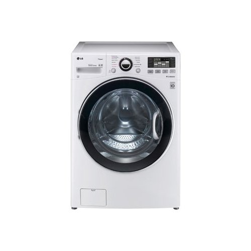 LG WM3470HWATurboWash 4.0 Cu. Ft. White Stackable With Steam Cycle Front Load Washer - Energy Star - Front Load Washers