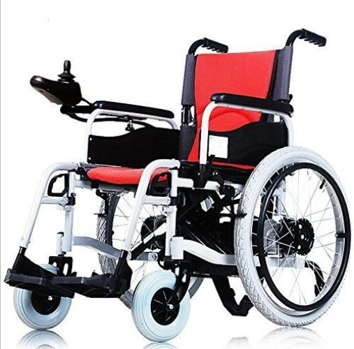 Lightweight Electric Wheelchair Portable Medical Scooter for Disabled and Elderly Mobility - Electric Wheelchairs
