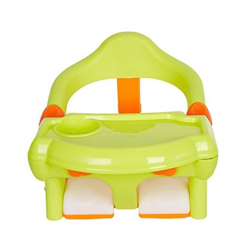 Livebest 2-in-1 Baby Bath Chair Tub Toddler Training Dining Chair - Baby Bath Seats