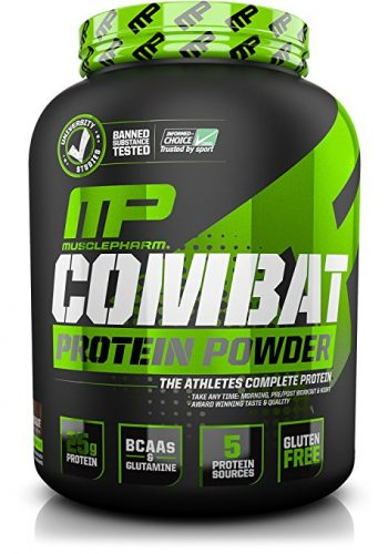 MusclePharm Combat Powder Advanced Time Release Protein - Protein Powders
