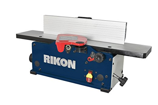 "RIKON Power Tools 20-600H 6"" Benchtop Jointer with Helical Cutter head - Benchtop Jointer"