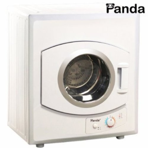 Panda Portable Dryer 2.65 cu.ft 110v Compact Apartment Size Stainless Steel Drum See Through-Window - Portable Washing Machine