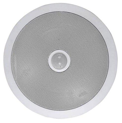 Pyle PDIC80 In-Wall / In-Ceiling Dual 8-inch 2-way Speaker System, White Pair - in-ceiling speakers