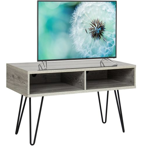 Best Choice Products TV Stand Media Console Wooden Design - Wooden TV Stand