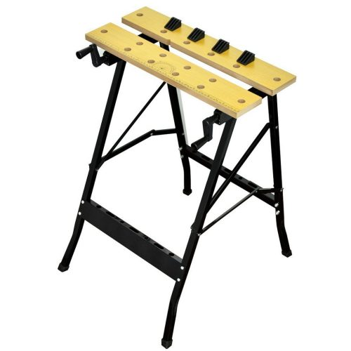 "Festnight Portable Durable Work Bench for Cutting Painting Measuring 24.4"" x 22"" x 29.5."" - Portable Folding Workbenches"