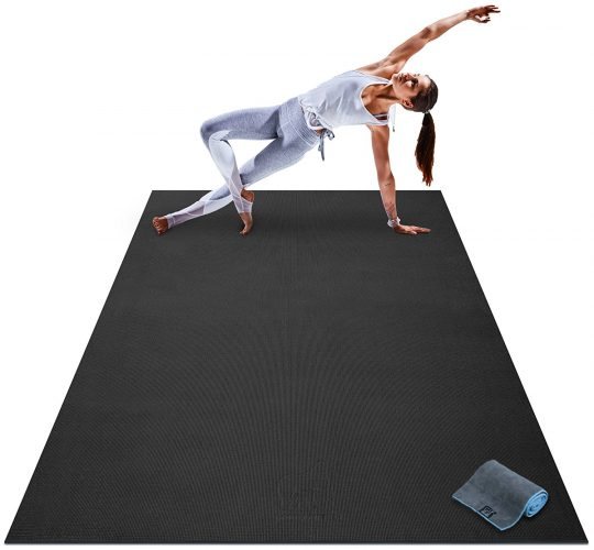Top 10 Best Gym And Exercise Equipment Floor Mat In 2019