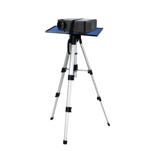 Projector Tripod Stand CHEERLUX Projector Screen Tripod Stand Adjustable Height 16in to 47in for Tablets IPad Photography Laptop with Plate and Carrying Bag - Projector Tripod Stands