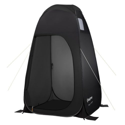 KingCamp Portable Pop Up Privacy Shelter Dressing Changing Privy Tent Cabana Screen Room w Weight Bag for Camping Shower Fishing Bathing Toilet Beach Park, Carry Bag Included - Best Shower Tents