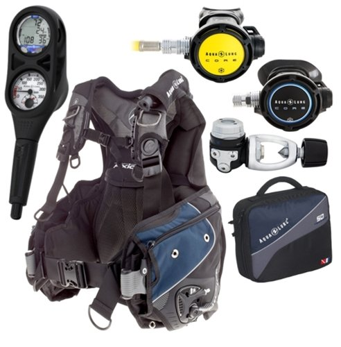 AquaLung Axiom i3 Cold Water Scuba Package (Medium) - Scuba Gear Packages