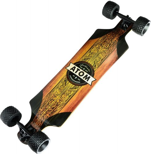 "Atom Longboards Atom All-Terrain Longboard - 39"", Woody - off-road skateboards"