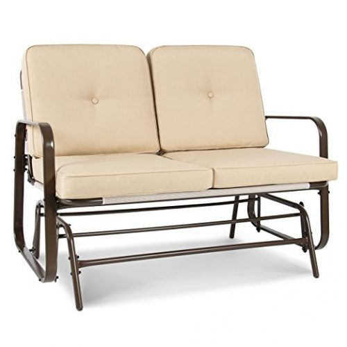 Best Choice Products 2 Person Loveseat Patio Glider Bench Rocker - Patio Gliders