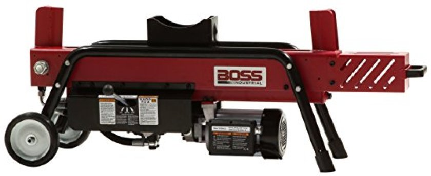 Boss Industrial ED8T20 Electric Log Splitter, 8-Ton - Electric Log Splitters