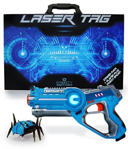 Dynasty Toys Laser Tag Blaster and Robot Nano Bug Striker - Laser Tag Toys