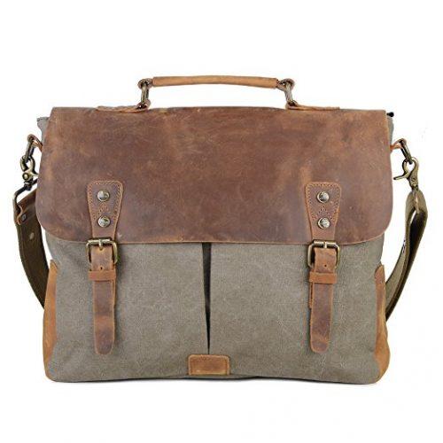 Gootium Vintage Canvas Messenger Bag - Messenger Bags for Women