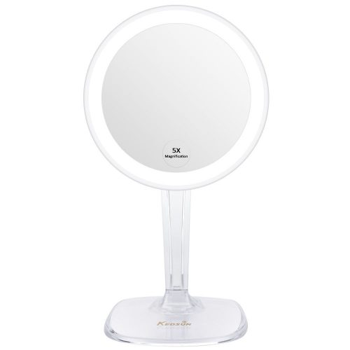 KEDSUM 5X Magnifying Lighted Makeup Mirror - Ring Lighted Mirrors