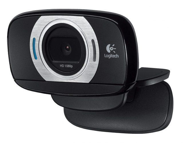 Logitech HD Laptop Webcam C615 with Fold-and-Go Design, 360-Degree Swivel, 1080p Camera. - Wireless Webcam