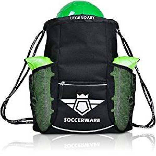 Soccer Bag Backpack - XL Capacity for Youth   Kids, Heavy Duty, Organize All 2ef9cd9975