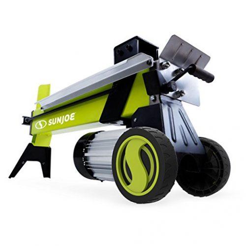 Sun Joe LJ602E 15-Amp 5-Ton Electric Log Splitter w/ Hydraulic Ram - Electric Log Splitters