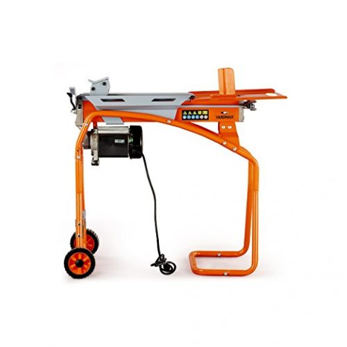 YARDMAX YS0552 5 Ton Electric Log Splitter, Stand, Log Tray - Electric Log Splitters