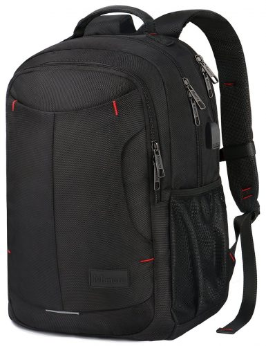 Mancro Laptop Backpack, Anti-Theft Durable Computer School College Travel Laptop  Backpack Bag with 2ffba749a2