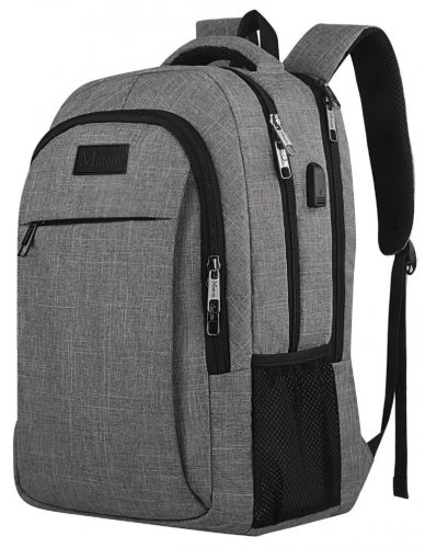 Travel Laptop Backpack, Business Anti Theft Slim Durable Laptop Backpack  with USB Charging Port , bc97c78d91