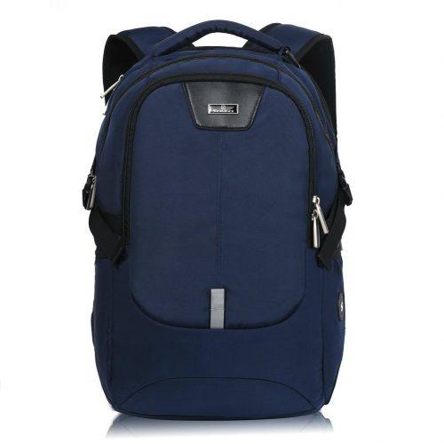 Silmarils 17 Inch TSA Friendly ScanSmart Laptop Backpack Waterproof (Black/Blue) (black) - 13 Inch Laptop Backpacks