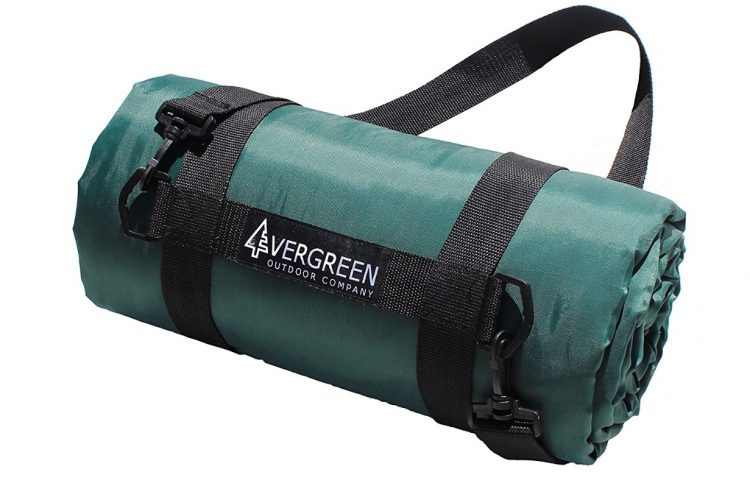 Evergreen Outdoor Blanket - Waterproof Picnic, Camping, Park & Stadium Blanket Perfect for All Outdoor Activities - Picnic Blankets