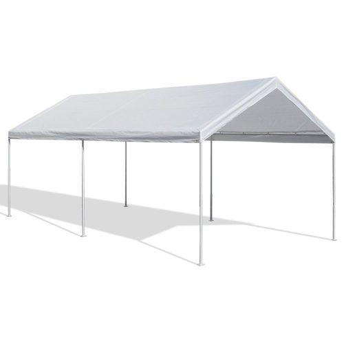 Caravan Canopy Domain Carport, White