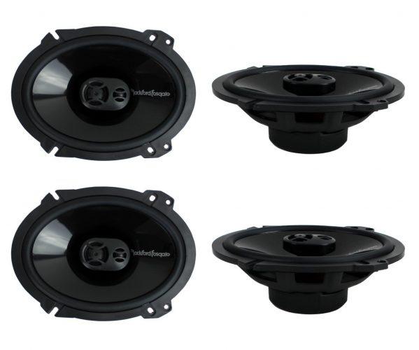 4) New Rockford Fosgate Coaxial Speakers