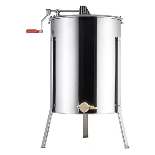 Tek Motion 4-Frame Large Stainless Steel Honey Extractor