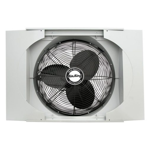 "AirKing 9166 20"" Whole House Window Fan - Whole House Fan"