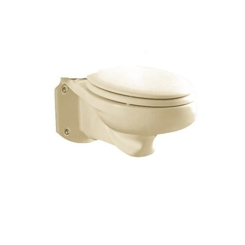 American Standard 3402.016.222 Glenwall Pressure-Assisted Wall-Mounted Elongated Toilet Bowl - Wall Mounted Toilet