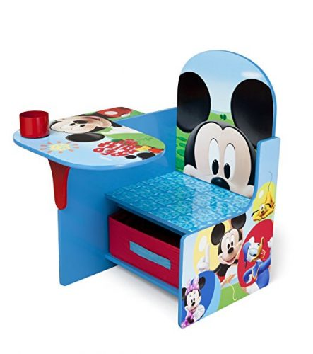 Delta Children Chair Desk With Storage Bin, Disney Mickey Mouse - Toddler Chairs