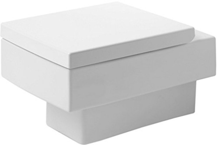 Duravit 22170900921 Toilet Bowl Wall-Mounted 14 5/8-Inch Vero - Wall Mounted Toilet