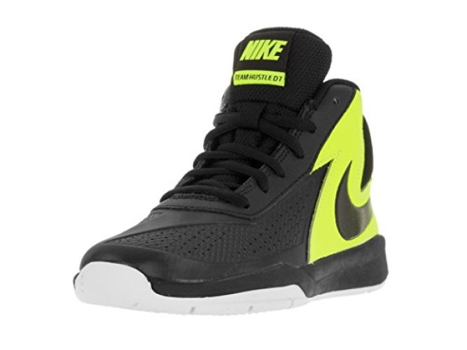 Nike Boy's Team Hustle D 7 Basketball Shoe - Basketball Shoes for Kid
