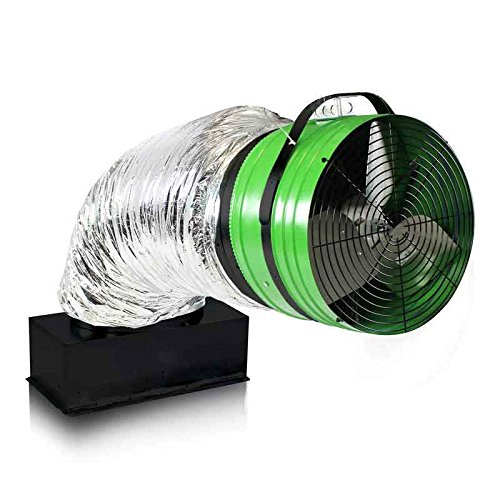 QuietCool QC ES-4700 Energy Saver Fan Line Model - Whole House Fan