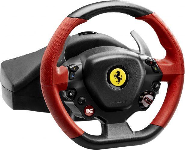 Thrustmaster Ferrari 458 Spider Racing Wheel for Xbox One - racing steering wheel