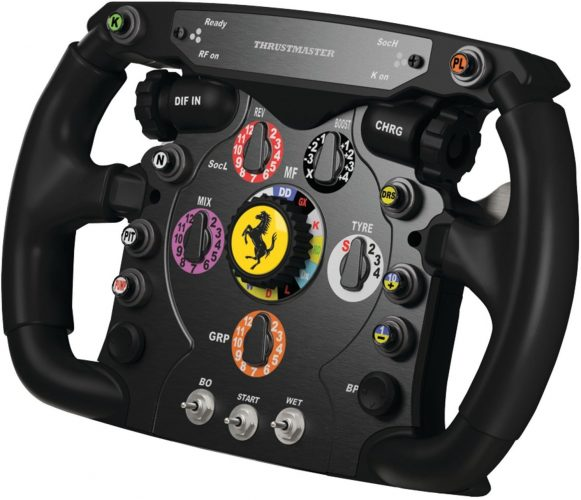 Thrustmaster Ferrari F1 Wheel Add-On for PS3/PS4/PC/Xbox One - racing steering wheel