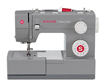 SINGER Sewing 4432 Heavy Duty Extra High-Speed Sewing Machine with 32 Built-in Stitches, Metal Frame and Stainless Steel Bedplate