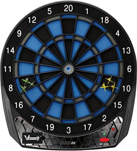 Viper by GLD Products Viper Vtooth 1000 EX Bluetooth Enabled Electronic Soft Tip Dartboard - Electronic Dart Boards