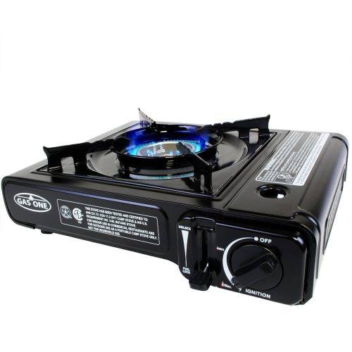 GAS ONE GS-3000 Portable Gas Stove with Carrying Case, 9,000 BTU