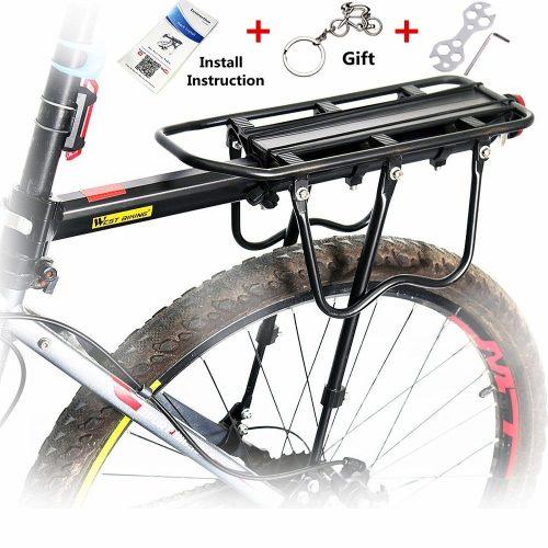 West Biking Adjustable Bike Cargo Rack Cycling Equipment Stand Footstock